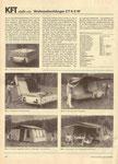 Bild: KFT 1986 Heft 07 (KFT stellt vor: Wohnzeltanhänger CT6-2W) Seite 210