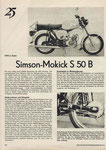 Bild: DDS 1974 Heft 09 (1975 in Serie: Simson-Mokick S 50 B) Seite 296
