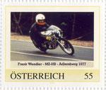 Briefmarke Frank Wendler - MZ-HB - Adlersberg 1977 Österreich 2008