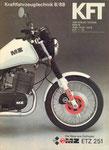 Bild: KFT 1988 Heft 08 (ETZ 251 - Das neue MZ-Motorrad) Titelseite