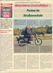 Bild: DDS 1988 Heft 03 (Motorisierte Zweiradfahrer - Partner im Straßenverkehr)DDS 1988 Heft 03 (Motorisierte Zweiradfahrer - Partner im Straßenverkehr) Seite 004
