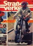 Bild: DDS 1986 Heft 08 (Test: Simson Roller SR 50 B4) Titelseite