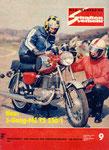 Bild: DDS 1976 Heft 09 (Neu: 5-Gang-MZ TS 250/1 ) Titelseite