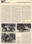 Bild: KFT 1971 Heft 06 (MZ-Gespann mit 19 PS) Seite 190