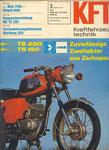 Bild: KFT 1976 Heft 03 (KFT beurteilt MZ-Gespann TS 250) Titelseite