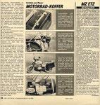 Bild: DDS 1985 Heft 10 (Motorrad-Koffer, MZ ETZ mit Halogenlicht) Seite 026