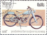 Briefmarke Wanderer 1939 0,50 Riel Kampuchea (Kambodscha) 1985