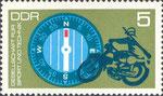 Briefmarke Gesellschaft für Sport und Technik - GST 5 Pfennig DDR  1972