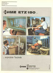 Bild: KFT 1988 Heft (KFT beurteilt MZ ETZ 150 mit 10,5-kW-Motor) Rückseite