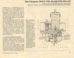 Bild: KFT 1989 Heft 05 (Der Vergaser 30N3-1 für die MZ ETZ 250/151) Seite 133