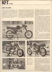 Bild: KFT 1973 Heft 04 (Technik Neuheiten TS 250, Erster Fahrbericht TS 250) Seite 106