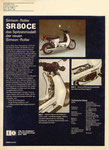 Bild: KFT 1986 Heft 05 (Kraftfahrzeugtechnik beurteilt den neuen Simson-Roller SR 50 B4) Rückseite
