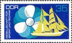 Briefmarke Gesellschaft für Sport und Technik - GST 35 Pfennig DDR  1972