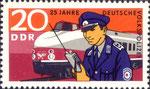 Briefmarke 25 Jahre Deutsche Volkspolizei 20 Pfennig DDR  1970