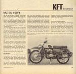 Bild: KFT 1970 Heft 10 (KFT beurteilt MZ ES 150/1) Seite 307