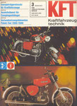 Bild: KFT 1979 Heft 03 (KFT beurteilt MZ TS 150 de Luxe) Titelseite