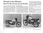 Bild: KFT 1990 Heft 06 (MZ geht in die Offensive: Neue ETZ 301 und neue of-road-Modelle) Seite 166
