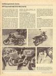 Bild: KFT 1985 Heft 10 (KFT beurteilt MZ ETZ 150 Teil II) Seite 306