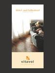 Vitavol Holzbodenöl Falzflyer Titelseite