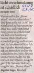 Remscheider General-Anzeiger, 5.8.2015