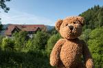 Was fällt mir nur zum Glottertal ein? Natürlich die Schwarzwaldklinik. Das da hinter mir, das ist sie!