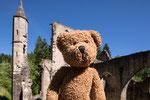 Das ist die Ruine des Klosters Allerheiligen.