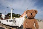 Hier bin ich nicht auf der Insel Kos in Griechenland sondern in Koserow auf der Insel Usedom.