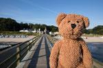 In meiner Seebäderbrückensammlung darf die in Koserow natürlich nicht fehlen!