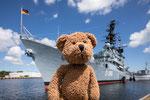 Auch ein Marinemuseum gibt es in Wilhelmshaven. Mit einem echten Zerstörer.