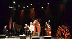 """Hervé Dréan, Pierre Droual, Rachel Goodwin, Dylan James - Concert-spectacle :  """"Personne n'y danse que les amoureux"""" : http://www.madtomduo.eu/accueil.html"""