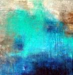 Turquoise, Acryl auf Leinwand 80x80cm