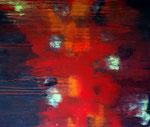 Feuer, Acryl auf Leinwand 120x100cm
