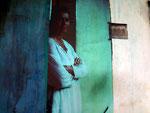 Selbstportrait, Acryl, Papier auf Leinwand 120x50cm