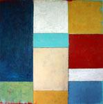 Farbmuster, Acryl auf Leinwand 90x90cm