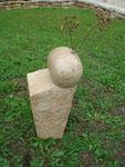 Kalkstein, 65 cm hoch