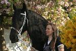 Die Kirschbaumblüte - auch ein schöner Hintergrund für Fotos! Thom S. und Regina Fabian