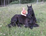 Das erste offizielle Foto im Liegen von Jeroen mit seiner stolzen Besitzerin Sandra aus dem sonnigen Kärnten!