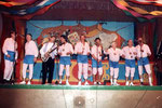 Fastnacht 1990: Uwe Wilken kommt zur Gruppe.