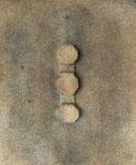 ohne Titel, 2008, Mischtechnik auf Leinwand, 46 x 38 cm [1/9]