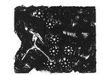 Blade Runner, Monotypie auf Papier, 2000, 28x38 cm [ID 20000200]