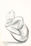 ohne Titel, Zeichnung, 22,5x15,5 cm [ID Z08]