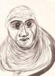 ohne Titel, Zeichnung, 19x14 cm [ID Z04]