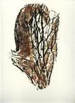 ohne Titel, Monotypie auf Papier, 2000, 37x28 cm [ID 20000229]