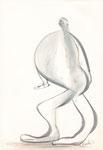 ohne Titel, Zeichnung, 22,5x15,5 cm [ID Z11]