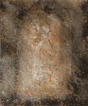 sin título, 2008, Técnica Mixta sobre Lienzo, 46 x 38 cm [8/9]