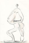 ohne Titel, Zeichnung, 22,5x15,5 cm [ID Z06]