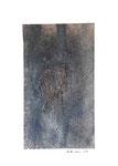 ohne Titel, Mischtechnik auf Papier, 2009, 45 x 32 cm [ID 20090007]