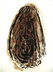 ohne Titel, Monotypie auf Papier, 2000, 38x28 cm [ID 20000275]