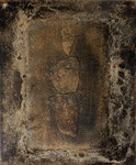 ohne Titel, 2008, Mischtechnik auf Leinwand, 46 x 38 cm [9/9]