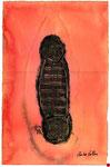 sin título, Monotipo sobre Papel, 2000, 50x33 cm [ID 20000201]